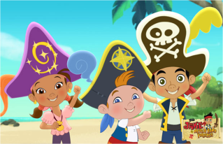 Disney junior invites jake and the never land pirates fans to in the new episode jakes birthday bash jakes crewmates cubby izzy and skully surprise him with a special birthday treasure hunt m4hsunfo
