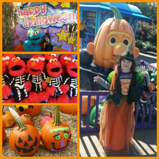 although the water activities are not open there is plenty to do so arrive early your family will want to spend the entire day having fun - Sesame Place Halloween