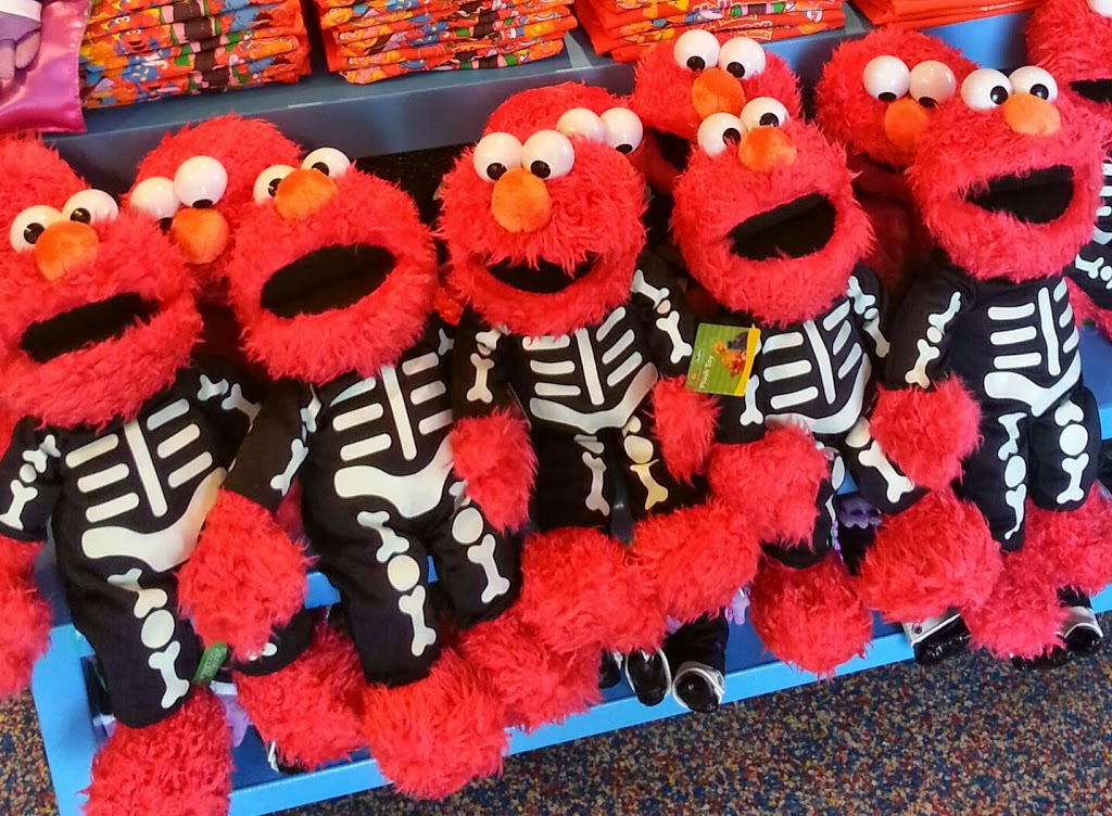 we have two halloween elmos right from sesame place just for you sesame place is a spooktacular place to visit this halloween season open weekends until - Sesame Place Halloween