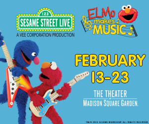 Giveaway Elmo Makes Music Sesame Street Live The Theater At Madison Square Garden Feb 13 23 2014