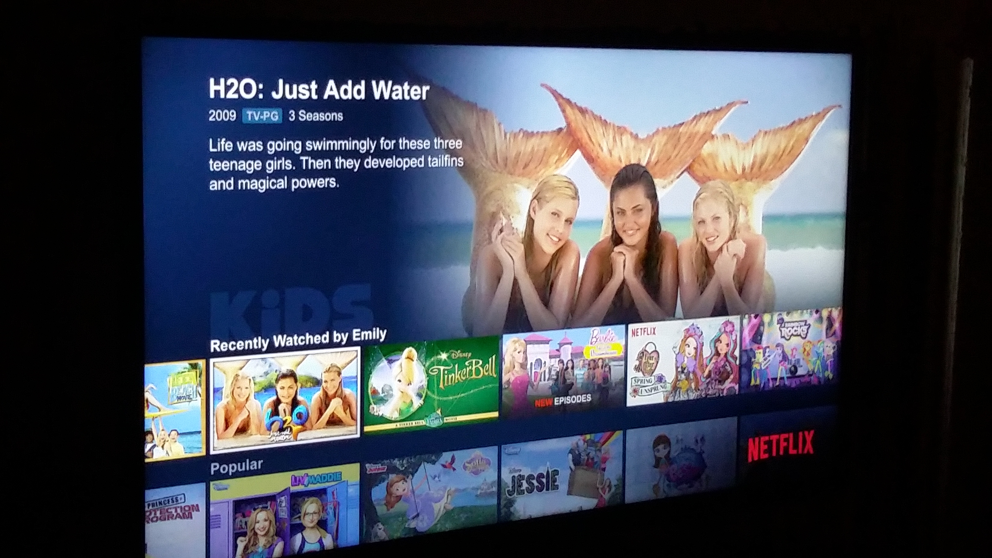 Netflix keeping us happy netflixstreamteam h2ojustaddwater for H20 just add water seasons