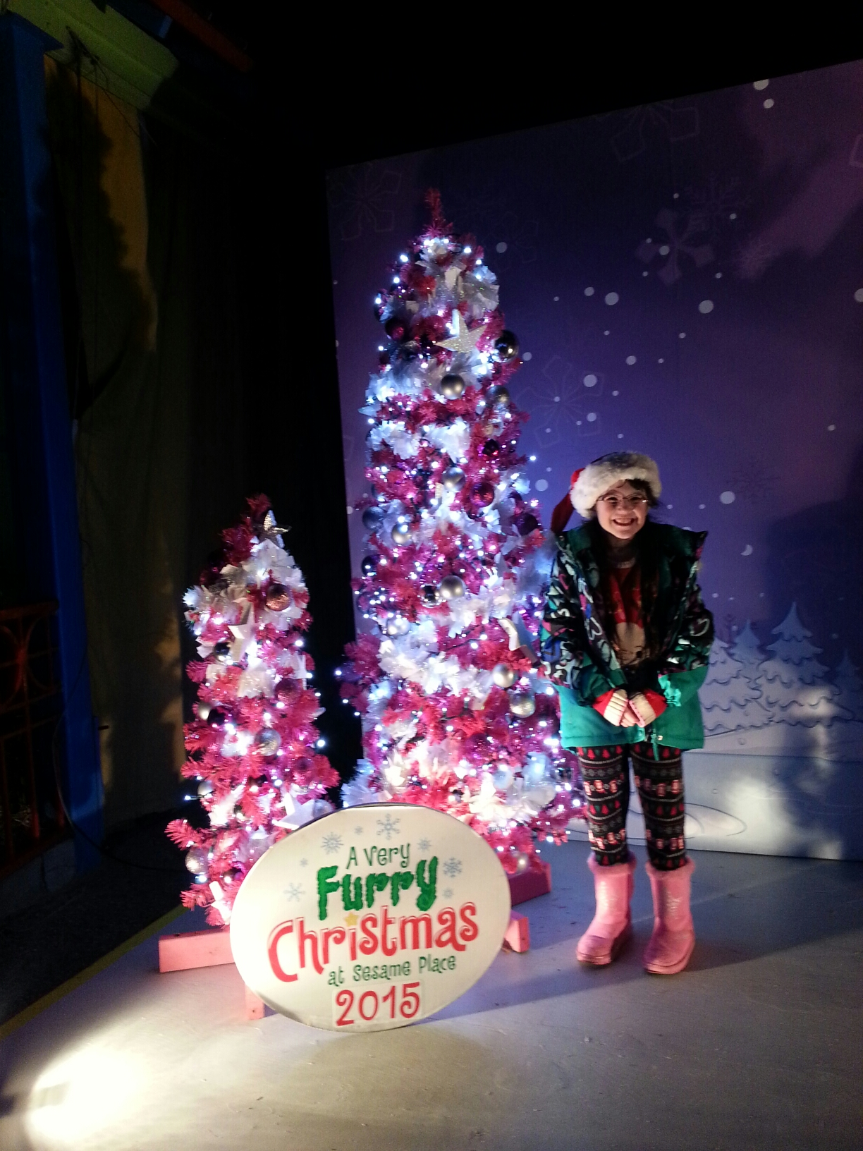 one of our favorite places to visit during the christmas season is sesame place in langhorne pa just under two hours from the nyc area its a great place - Furry Christmas