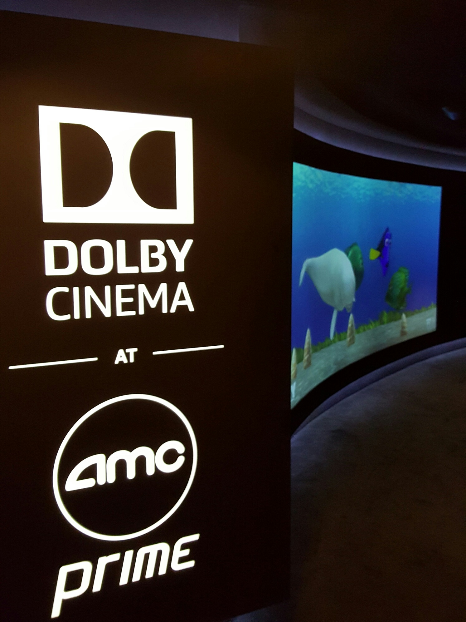 Finding Dory Dolby Cinema At Amc In Nyc Findingdory