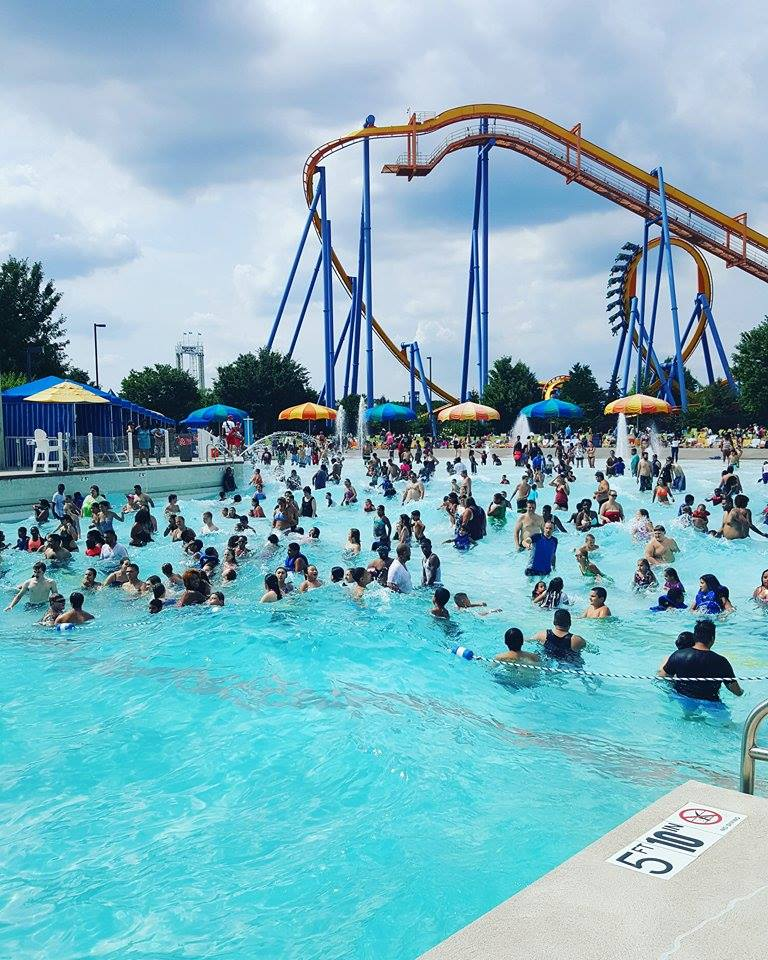 Dorney Park & Wildwater Kingdom is an amusement and water park owned and operated by Cedar Fair and located in between Allentown, Pennsylvania and Emmaus, Pennsylvania. The park features seven roller coasters, other adult and children's rides, and a waterpark, Wildwater Kingdom.