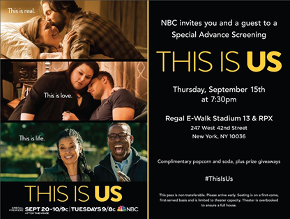 You Are Invited to a Sneak Peek Advance Screening of NBC's