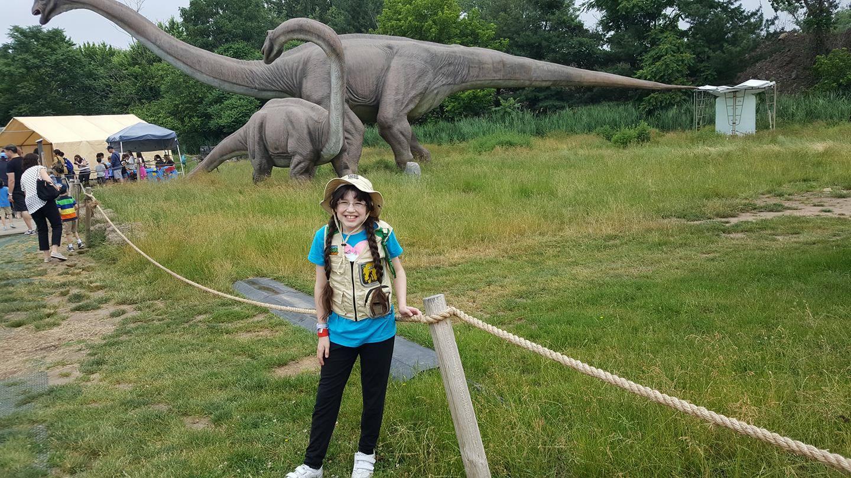 Field Station Dinosaurs- Dinosaurs Are In NJ @Jerseysaurus