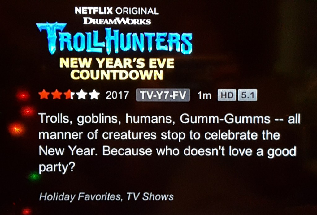 Celebrate New Year's Countdown Anytime With Netflix!