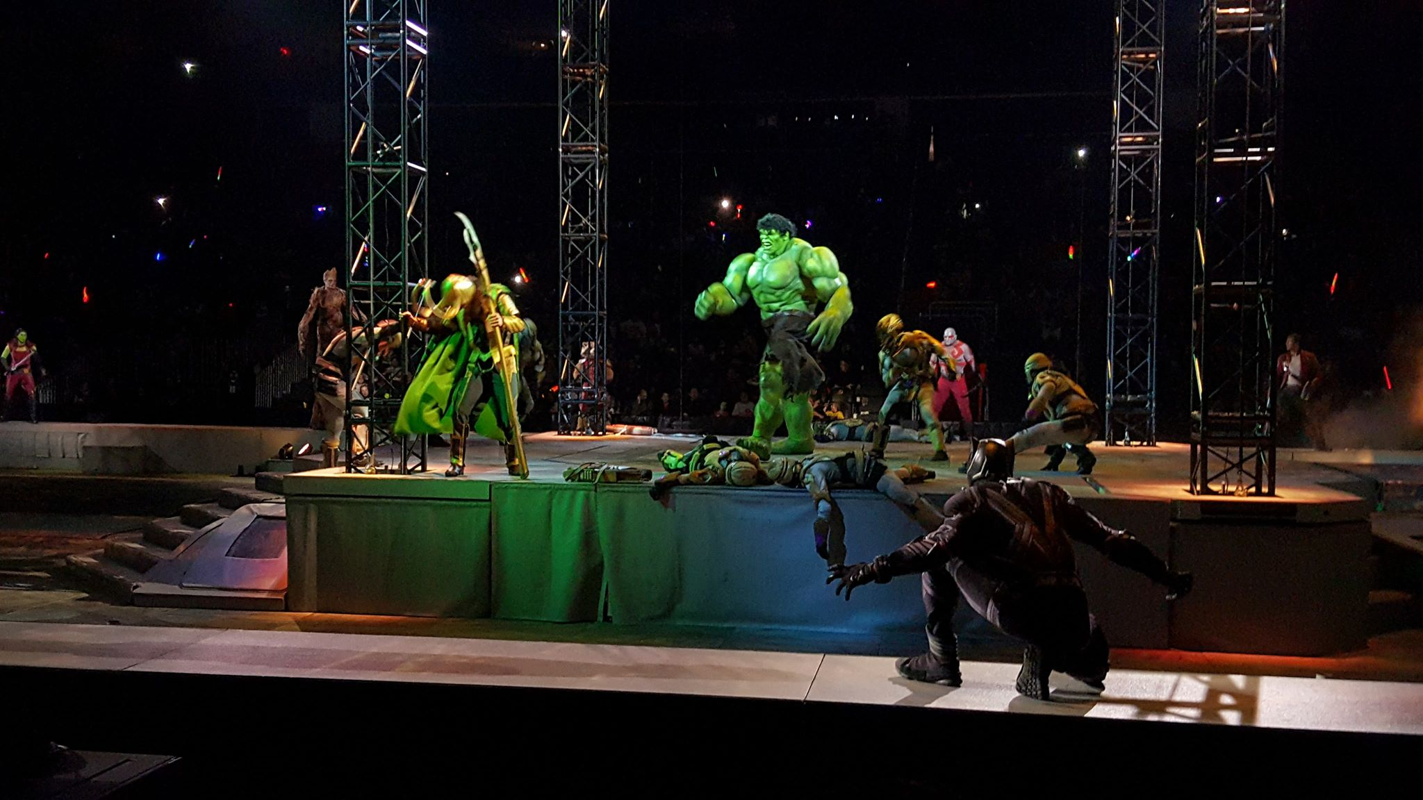 Ultimate Motorcycle Seats >> Marvel Universe Live! Age Of Heroes! NOW Playing in NJ and ...